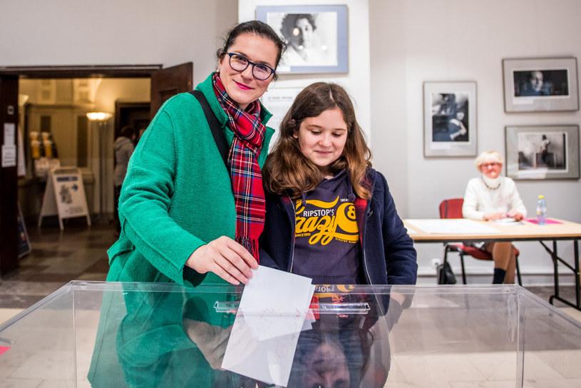 Aleksandra Dulkiewicz z córką /Marcin Bruniecki/ Reporter /Reporter