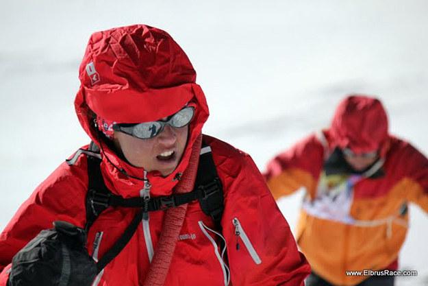 Aleksandra Dzik na trasie Elbrus Race /fot. Elbrus Race /