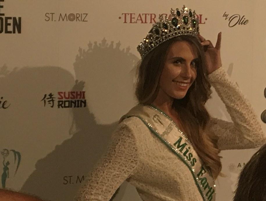 Aleksandra Grysz, Miss Earth Poland 2018: /Michał Dobrołowcz /RMF FM