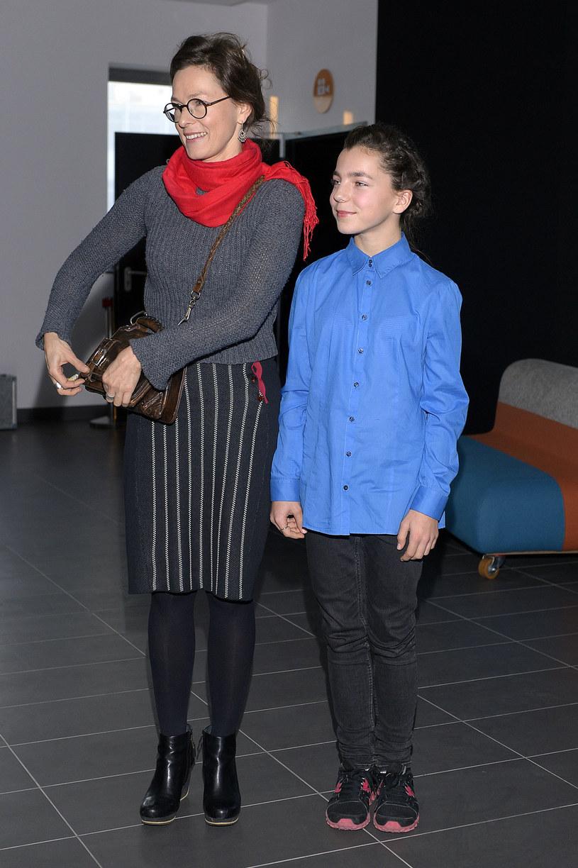 Aleksandra Justa z córką Bronisławą Zamachowską /Dariusz Gałązka /AKPA