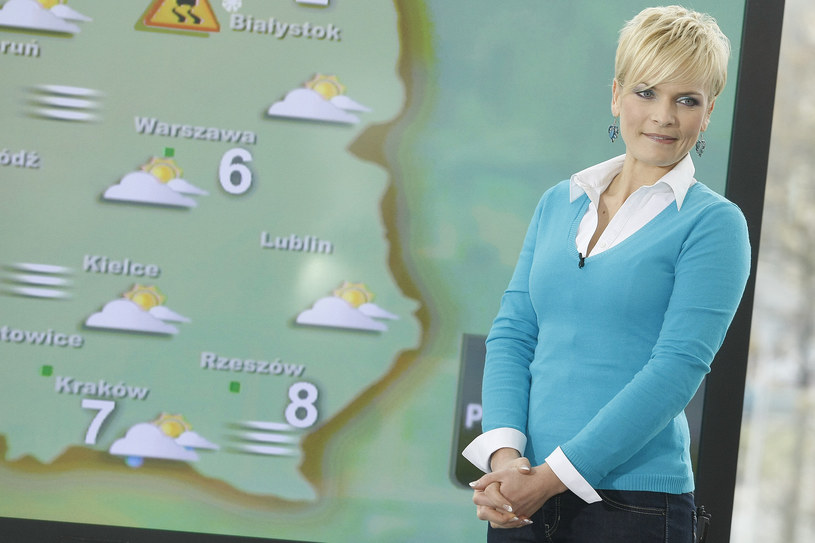 Aleksandra Kostka jako pogodynka (2009) /AKPA
