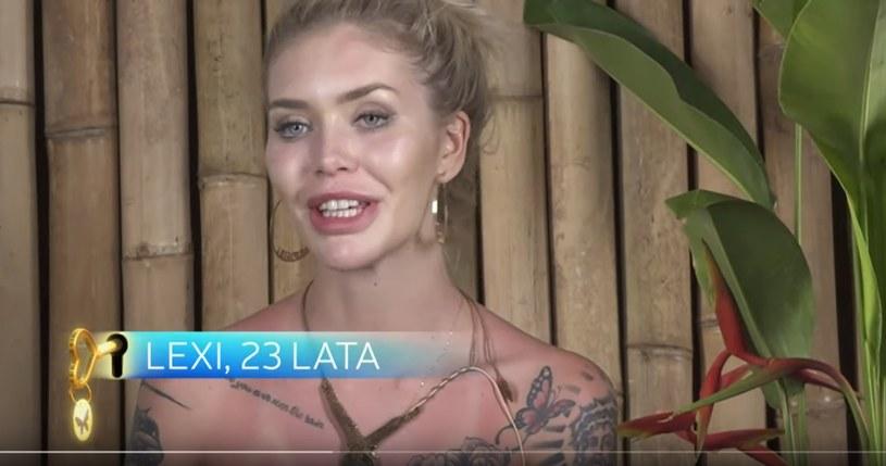 """Aleksandra """"Lexi"""" Domańska w """"Paradise Hotel"""" /TVN7 /materiał zewnętrzny"""