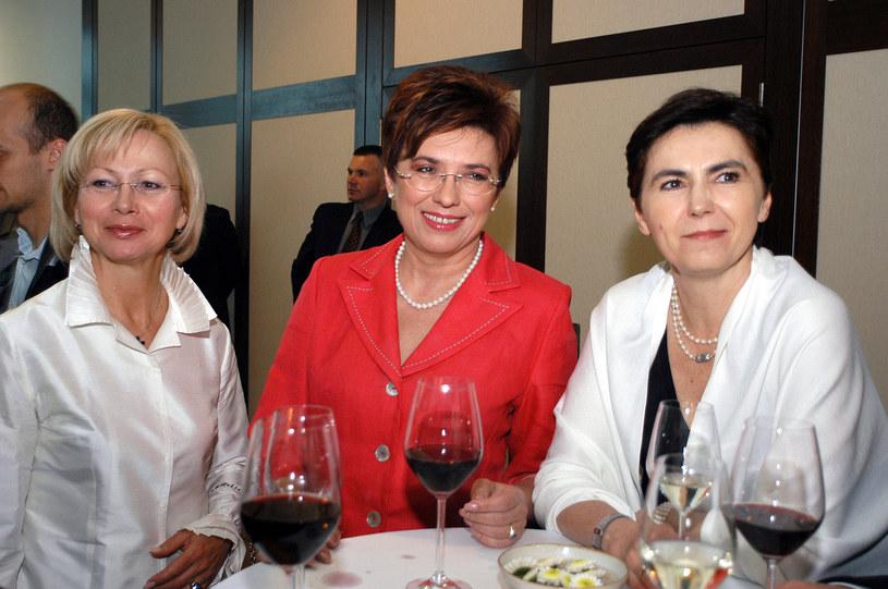 Aleksandra Miller, Aleksandra Jakubowska i Barbara Piwnik - 2004 r. /Albert Zawada /AKPA