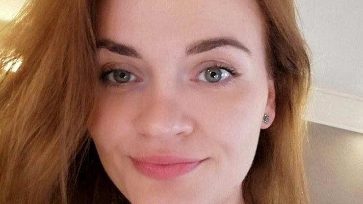 Aleksandra Ostańska, która mieszka w Wielkiej Brytanii, przyjęła już pierwszą dawkę szczepionki /facebook.com