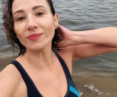 Aleksandra Popławska zachęca do plażowania w listopadzie