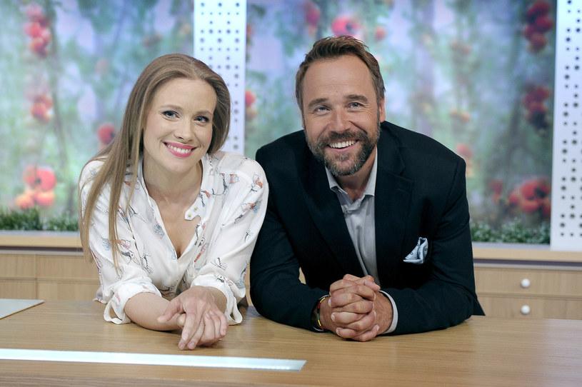 Aleksandra Rosiak i Łukasz Nowicki /Gałązka /AKPA