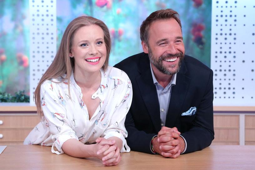 Aleksandra Rosiak i Łukasz Nowicki /- /MWMedia