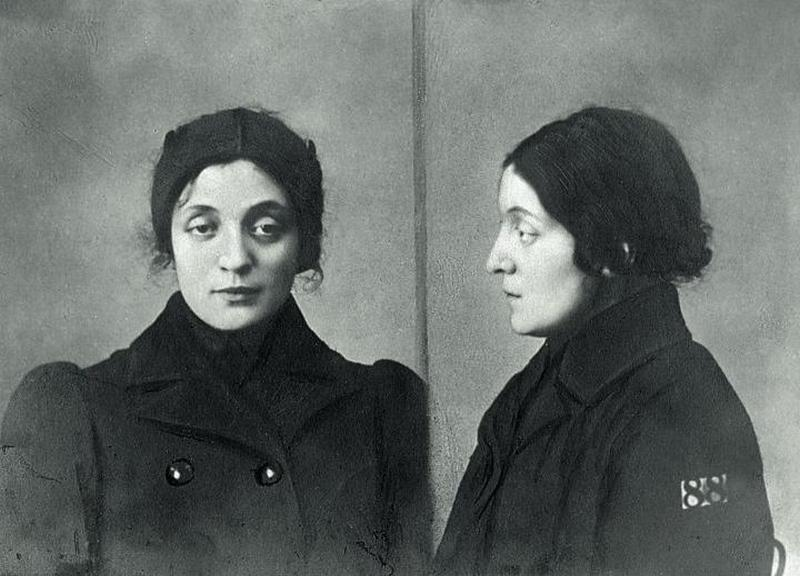 Aleksandra Szczerbińska wiele poświęciła dla polskiej niepodległości. Na ilustracji zdjęcie wykonane przez carską Ochranę po jej aresztowaniu w 1907 roku (domena publiczna) /Ciekawostki Historyczne