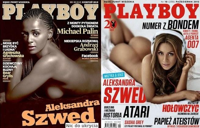 """Aleksandra Szwed należy do odważnych osób. Już dwukrotnie rozebrała się dla magazynu """"Playboy"""" /materiały prasowe"""
