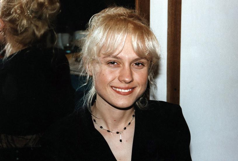 Aleksandra Woźniak, 1998 rok /Prończyk /AKPA