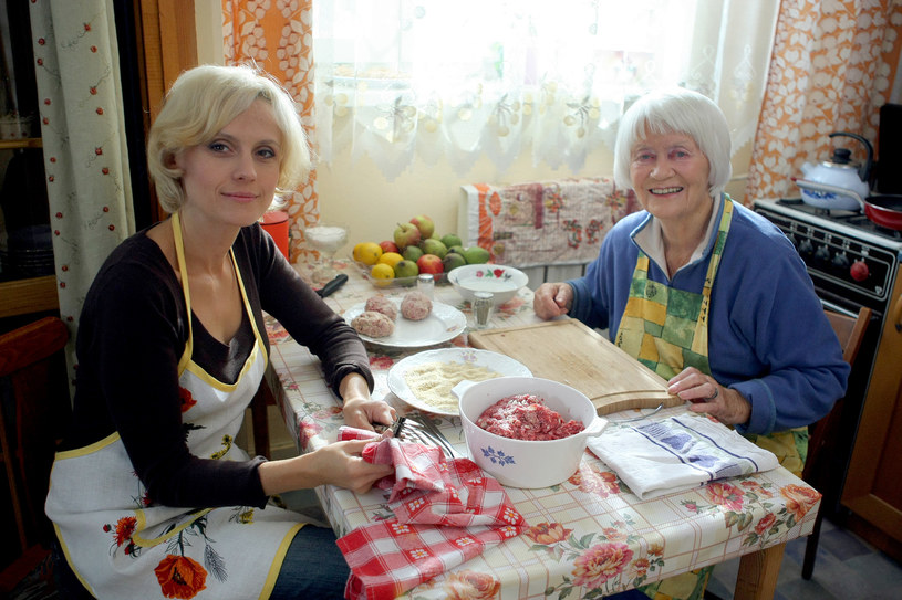 Aleksandra Woźniak, Alina Janowska /Podsiebierka /AKPA