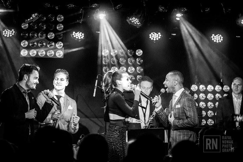 Aleksandry z niemieckim zespołem Vintage Vegas/ fot. Rafał Nowak /Styl.pl/materiały prasowe