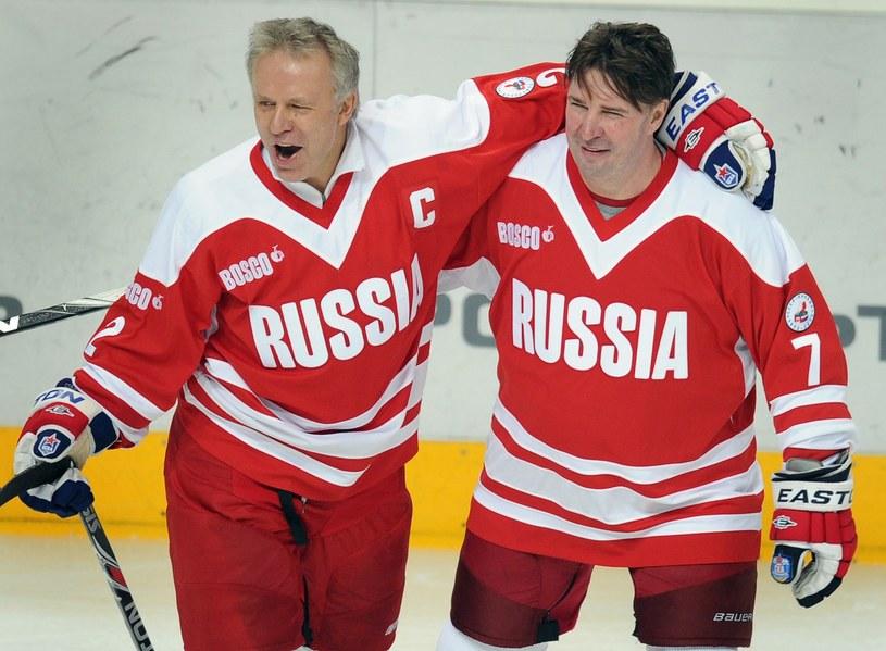 Aleksiej Kasatonow i Wiaczesław Fietisow /AFP