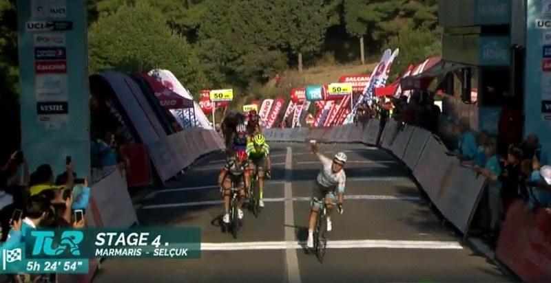 Aleksiej Łucenko wygrał 4. etap wyścigu Dookoła Turcji /
