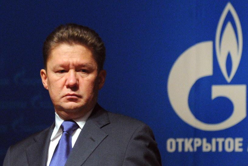"""Aleksiej Miller , szef Gazpromu - tak naprawdę nie tyle potrzebuje """"mobilnego superkomputera"""", co odpowiedniej platformy umożliwiającej wymianę informacji z systemem firmy /AFP"""
