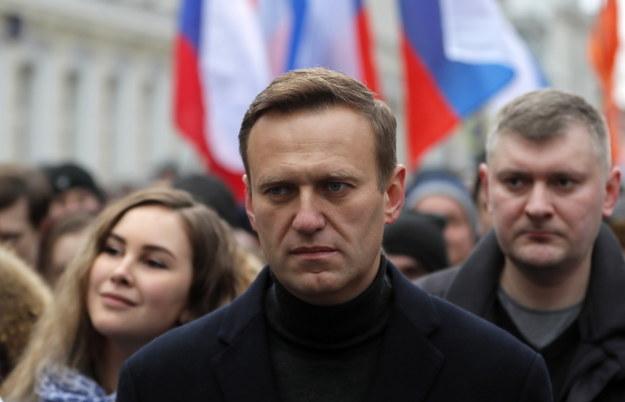 Aleksiej Nawalny, rosyjski opozycjonista, prawnik i publicysta /YURI KOCHETKOV /PAP/EPA