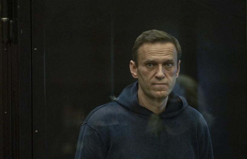 Aleksiej Nawalny w sądzie /MOSCOW CITY COURT PRESS SERVICE HANDOUT  /PAP/EPA