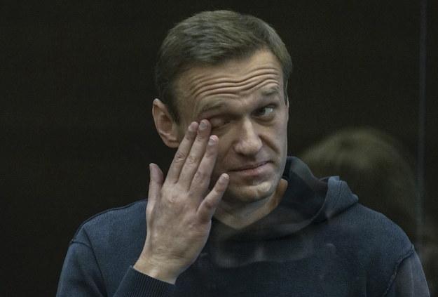 Aleksiej Nawalny w sądzie /MOSCOW CITY COURT PRESS SERVICE /PAP/EPA