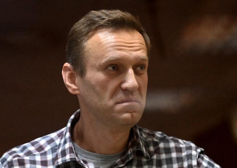 Aleksiej Nawalny w sądzie /Kirill Kudryavtsev /AFP