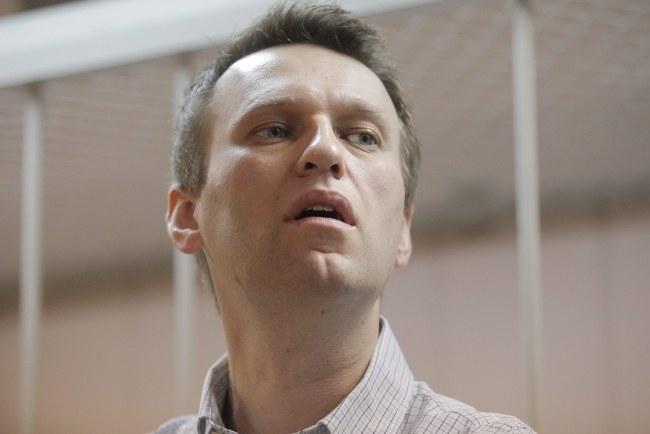 Aleksiej Nawalny /PAP/EPA/MAXIM SHIPENKOV /PAP/EPA