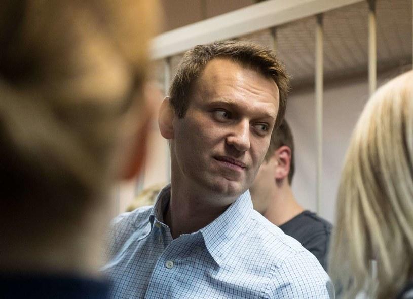 Aleksiej Nawalny /DMITRY SEREBRYAKOV /AFP