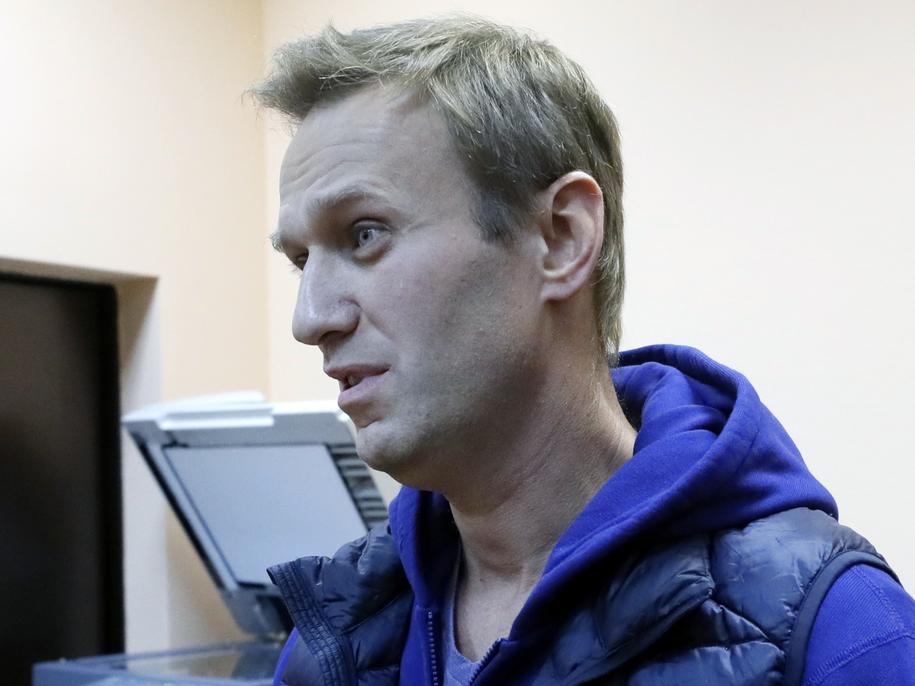Aleksiej Nawalny /YURI KOCHETKOV /PAP/EPA