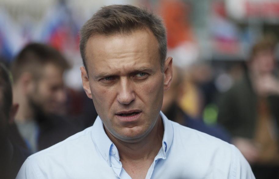 Aleksiej Nawalny /Sergei Ilnitsky /PAP/EPA