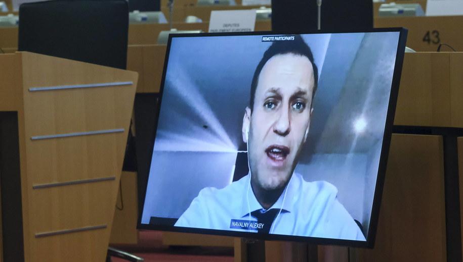 Aleksiej Nawalny /OLIVIER HOSLET /PAP/EPA