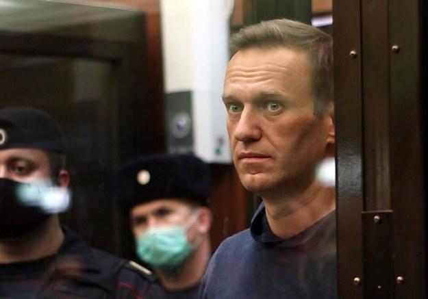 Aleksiej Nawalny /Moscow City Court Press Office\TASS  /PAP/EPA