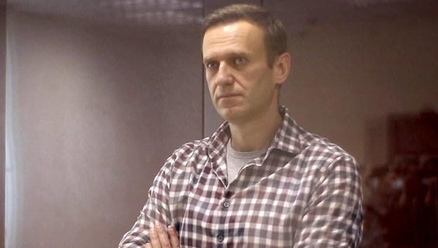 Aleksiej Nawalny /Moscow City Court /PAP/EPA