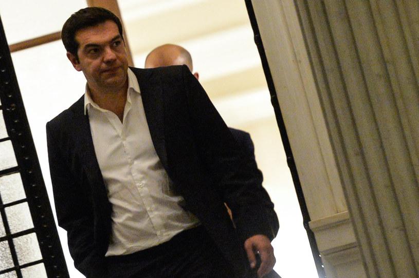 Aleksis Cipras musi przekonać Greków do reform, w które... nie wierzy /AFP