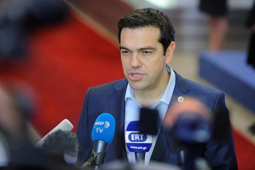Aleksis Cipras /LAURENT DUBRULE    /PAP/EPA
