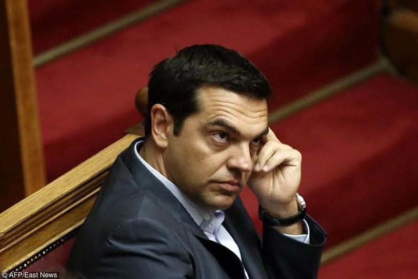 Aleksis Cipras /PANAYIOTIS TZAMAROS/AFP /East News