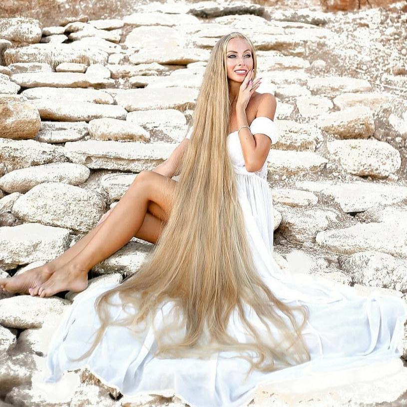 Alena Kravchenko z Odessy ma jedne z najdłużyszych włosów na świecie /East News