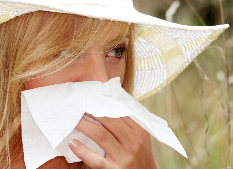 Alergia może przerodzić się w astmę /123RF/PICSEL