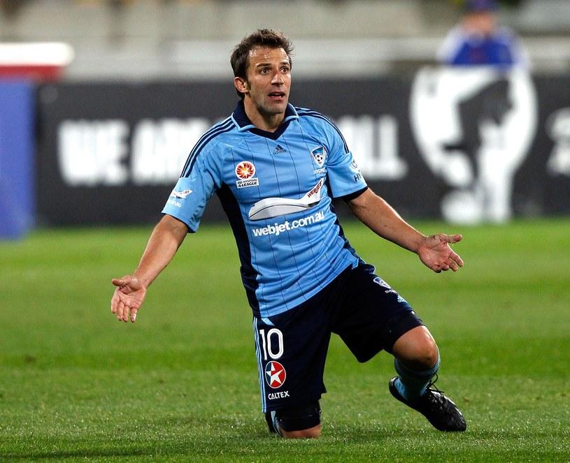 Alessandro Del Piero ma już za sobą debiut w Sydney FC /AFP