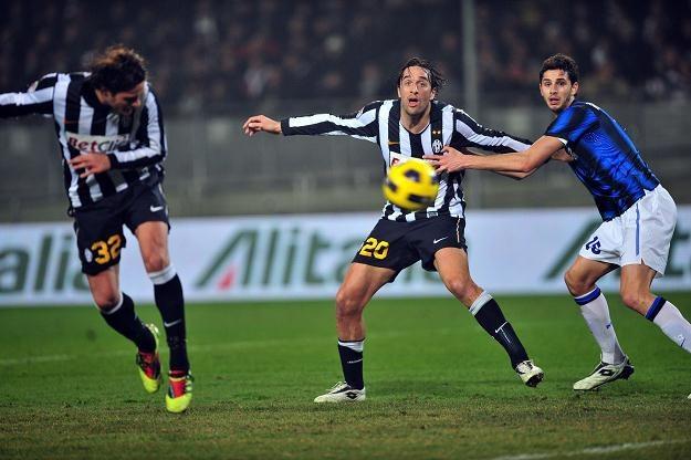 Alessandro Matri strzelił dla Juve gola na wagę zwycięstwa /AFP