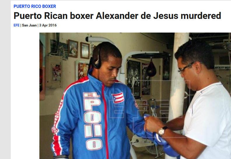 Alex de Jesus (z lewej) / http://www.efe.com /