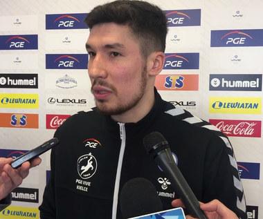 Alex Dujshebaev przed meczem Motor Zaporoże - PGE Vive. Wideo