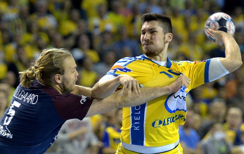 Alex Dujszebajew w meczu z PSG /Fot. Piotr Polak /PAP