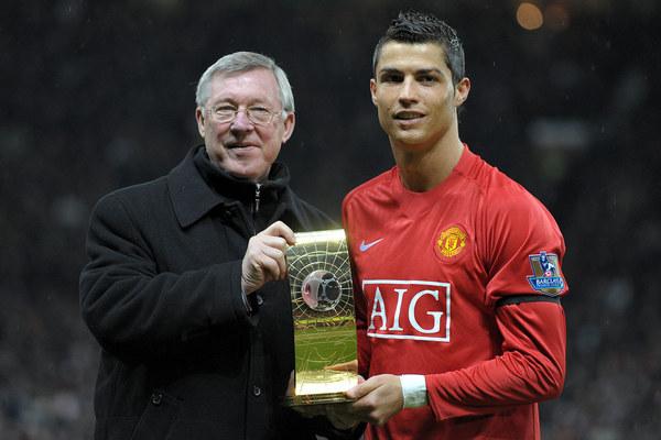 Alex Ferguson i Cristiano Ronaldo spotkają się ponownie w Man Utd /AFP