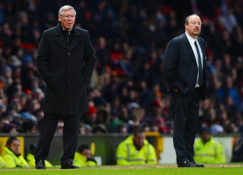 Alex Ferguson i Rafa Benitez /AFP
