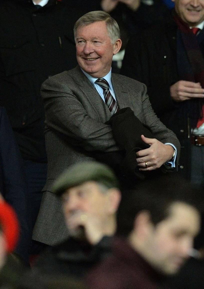Alex Ferguson na meczu Manchesteru United /AFP