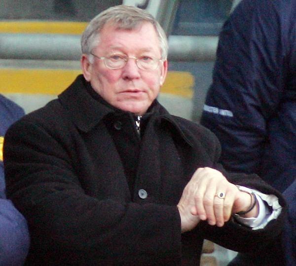 Alex Ferguson nie wytrzymał po derbowym meczu z City /AFP