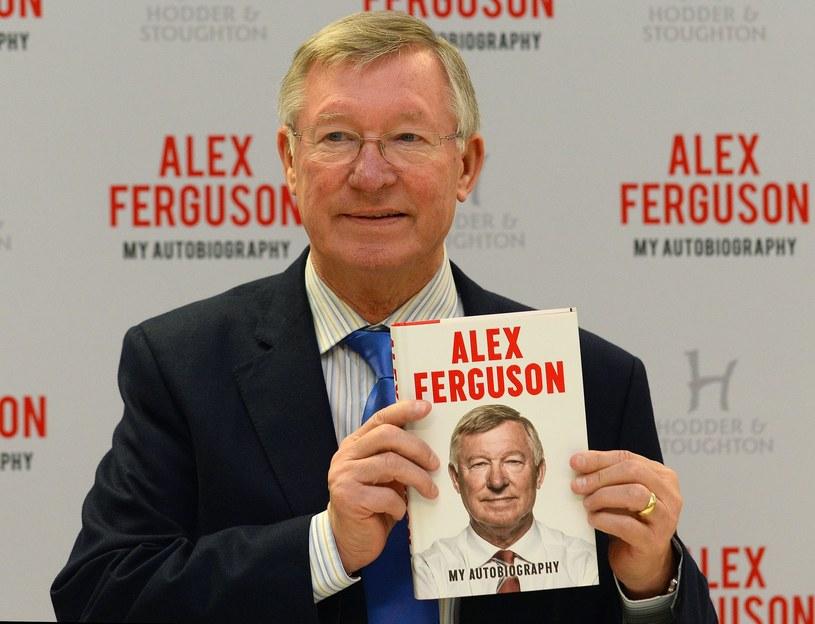 Alex Ferguson podczas prezentacji swojej autobiografii /AFP