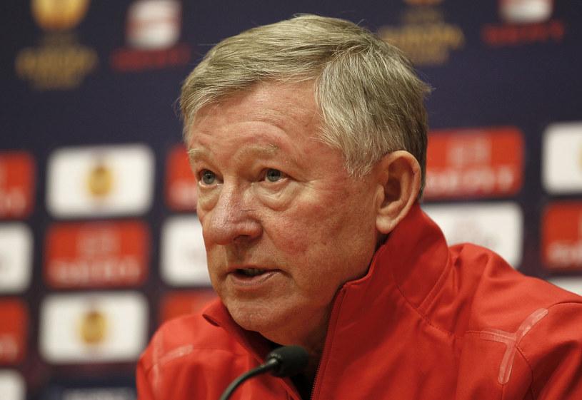 Alex Ferguson /- /AFP