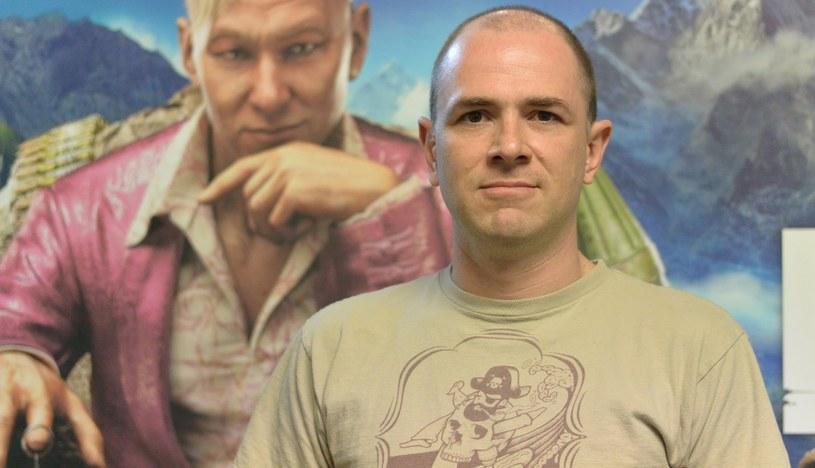 Alex Hutchinson - fragment wywiadu zamieszczonego w serwisie YouTube/ na kanale: Wayward Son /materiały źródłowe