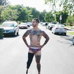 Alex Minsky: Stracił nogę w Afganistanie, dziś jest modelem