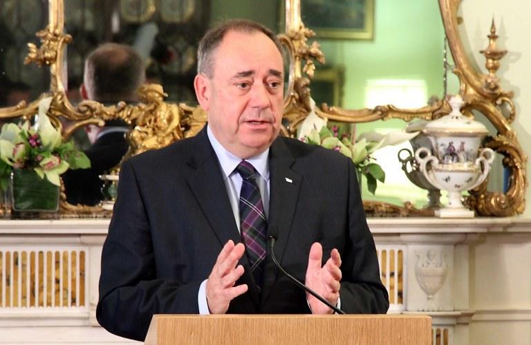 Alex Salmond /AFP