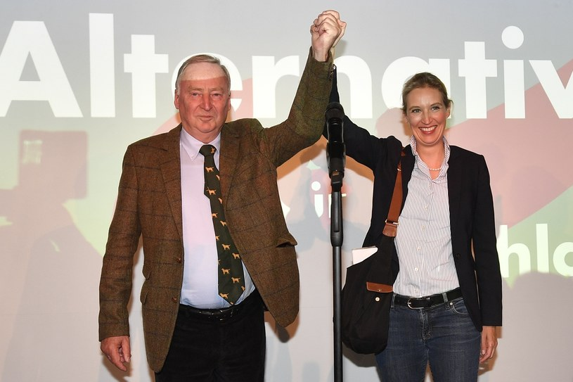 Alexander Gauland i Alice Weidel /Associated Press /East News